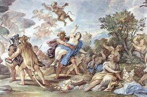 Rape of Persephone by Luca Giordano
