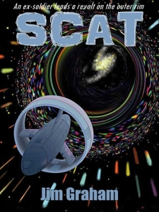 Demonstration Ebook Cover for the sci-fi novel SCAT.