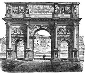 Victory Arch of Emperor Constantine