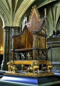Coronation Chair for a King