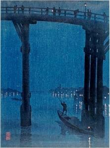 Moody Night Scene on the River