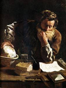 Archimedes by Domenico Fetti (1620)