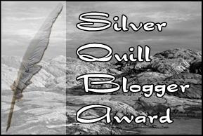 The Silver Quill Blogger Award Icon