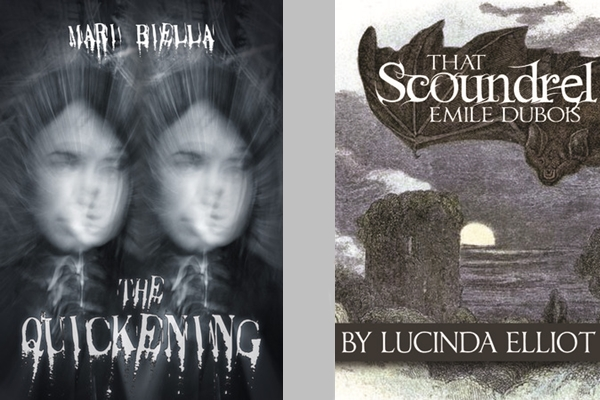 Covers of Novels by Mari Biella and Lucinda Elliot