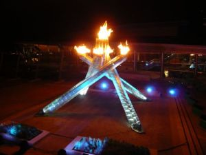 Vancouver Olympic Flame 2010