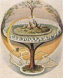Yggdrasil by Oluf Olufsen Bagge 1847