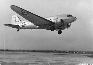 Douglas C-47 Cargo Plane