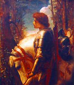 Galahad by George Frederic Watts