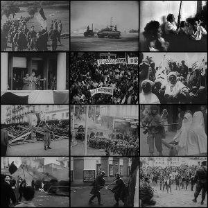Collage of Algerian War photos
