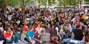 Occupy Wall Street is a fine example of blaming someone else for your problems. (photo credit: public domain via Wikimedia Commons)
