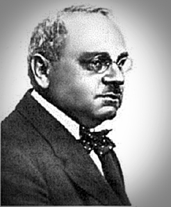 Portrait photo of Alfred Adler