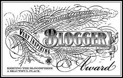 Very Inspiring Blogger Award Icon