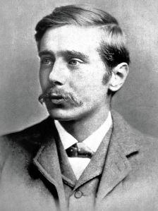 Young H. G. Wells portrait photo