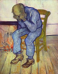 At Eternity's Gate by Vincent van Gogh (A grieving old man)
