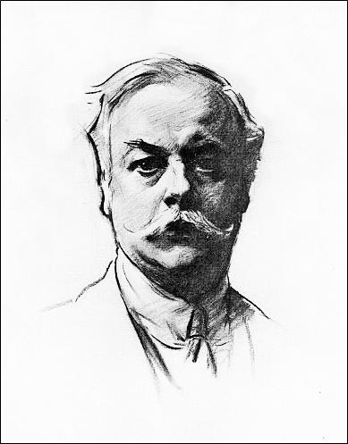 Kenneth Grahame Sketch Portrait